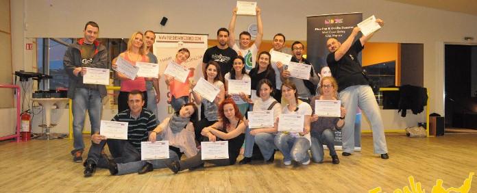 Първи международен семинар по West Coast Swing